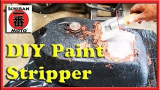 How To Make Diy Paint Stripper For Cheap Or Free, Awesome For Motorcycles Cars Or Furniture