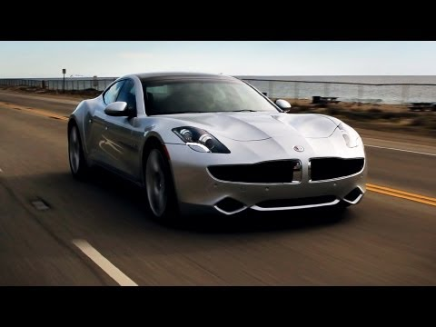Fisker Karma Driving Review