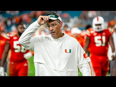 University of Miami's Dan Enos addresses Hurricanes' evolving quarterback situation