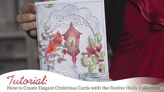 How to Create Elegant Christmas Cards