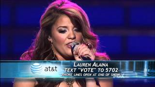"true HD Lauren Alaina ""Maybe It Was Memphis"" Top 2 American Idol 2011 (May 24)"