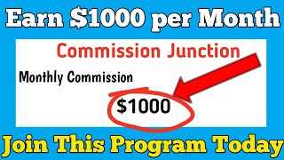 How To Create A Commission Junction Account