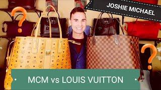 Louis Vuitton Neverfull GM Vs MCM Large Liz Tote || JM