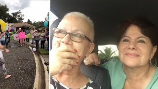 Family Throw Surprise Parade After Last Chemo Session