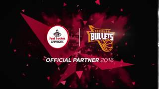 Footlocker Brisbane Bullets Official Partner