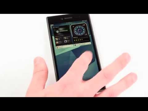 First Official Look at Apps on The New 5-Inch HD BlackBerry Leap