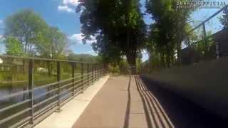 preview picture of video 'Oranienburg-Radtour durch die Stadt'