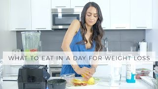 What To Eat In A Day For Weight Loss | Dr Mona Vand
