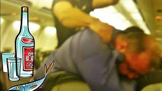 ПЬЯНЫЕ РУССКИЕ ТУРИСТЫ В САМОЛЕТЕ летят на отдых в Египет в Шарм Эль-Шейх, видео прикол