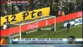 15 años de Riquelme - Especial Fox Sports (90 Minutos de Fútbol). - DBJ♥