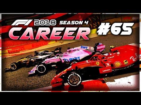 F1 2018 Career Mode Part 65: MEGA BATTLES! SO MANY OVERTAKES ON THE LAST LAPS!