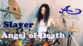 Slayer - Angel of Death drum cover by Ami Kim (22nd)