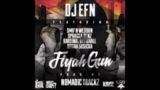 "DJ EFN feat. Smif-n-Wessun, Spragga Benz, Kardinal Offishall - ""Fiyah Gun"" (HQ)"