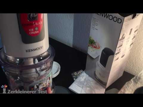 Kenwood CH 580 Quadblade Zerkleinerer Test