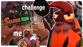 The Hardest SalmonRun Challenge