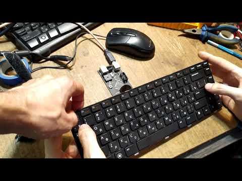 Тестируем прогамматор Вертьянова на клавиатуре ноутбука