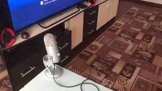 Подключение USB микрофона к PS4. Blue Yeti.