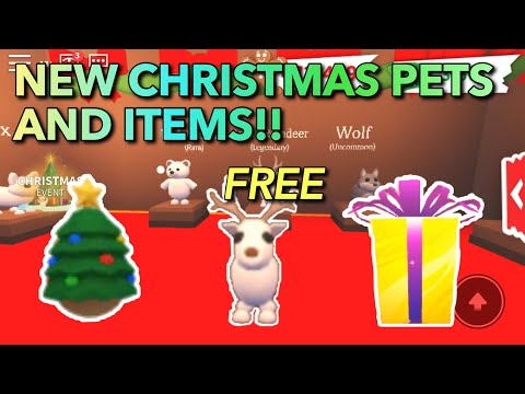 How To Get FREE Christmas Pets And Eggs In Adopt Me/New Update (Roblox) - Social network sharing ...