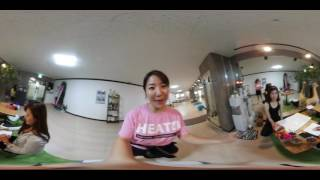 Miri Jung's Fitness Life in 361VR Ep.2