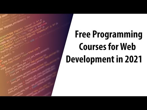 Free Programming Courses for Web Development in 2021