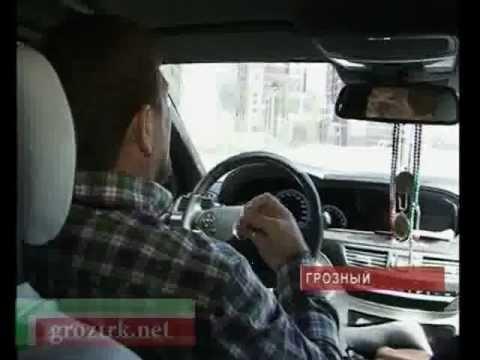 Ситуация на дорогах Чечни - видео-репортаж