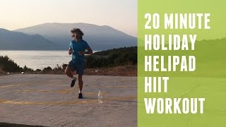 20 Minute Holiday Helipad HIIT Workout | The Body Coach by The Body Coach TV