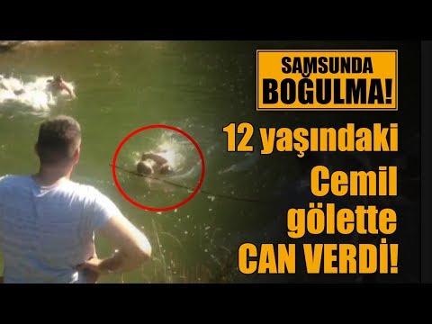 Samsun'da boğulma: 12 yaşındaki Cemil, gölette can verdi!