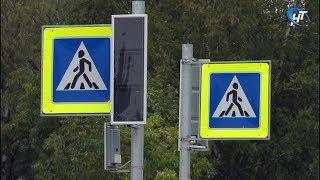 Ситуация с неработающими светофорами в Великом Новгороде остается напряженной