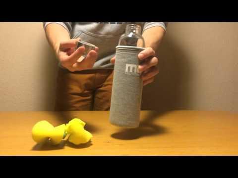 MIU Color Glasflasche | Glastrinkflasche | Trinkflasche-Glas.de