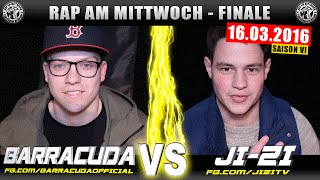 RAP AM MITTWOCH MÜNSTER: BARRACUDA vs JI-ZI 16.03.16 BattleMania Finale (4/4) GERMAN BATTLE
