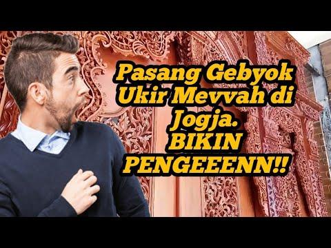 Pasang Gebyok Ukir Jati Mevvah di Jogjakarta. Bikiiiinn Pengeeenn!!