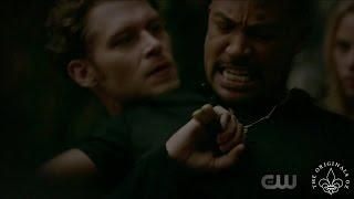 The Originals 4x02 Elijah & Marcel fight. Freya frees Klaus
