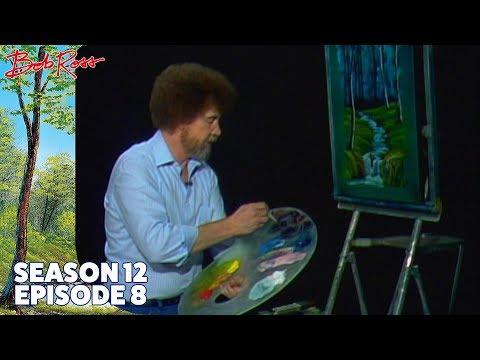 Bob Ross - Evening Waterfall (Season 12 Episode 8)