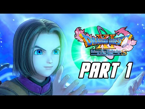 DRAGON QUEST XI S: Echoes of an Elusive Age Definitive Edition - PS4 PRO Gameplay Walkthrough Part 1