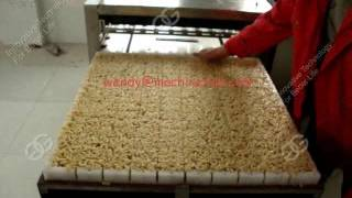 Peanut  Candy Brittle Bar Cutter Machine| Production Line