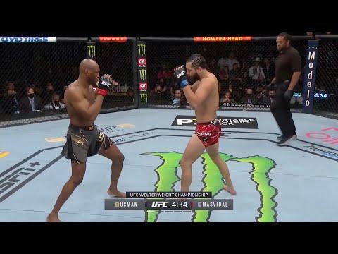 UFC 261: Usman vs. Masvidal 2 – highlights