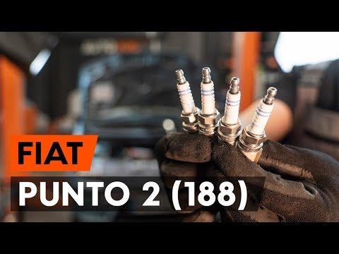 Как заменить свечи зажигания на FIAT PUNTO 2 (188)