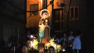 preview picture of video 'Processione di Maria S.S. delle Grazie. Guidomandri Superiore 26 agosto 2012'