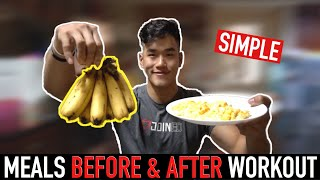 What I eat BEFORE & AFTER Workout (Explained)