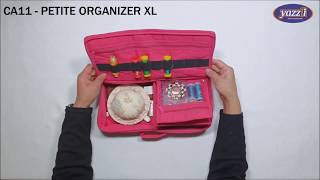 CA11 – Petite Organizer XL | Yazzii Craft Bags | Multi-purpose Organizers