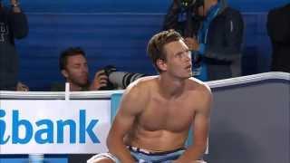 Murray And Berdych Mid Match Spat | Australian Open 2015