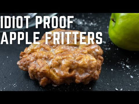 Idiot Proof Apple Fritters