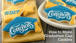 How To Make Graduation Cap Cookies