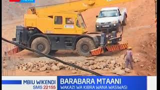 Baadhi za familia zaathirika Murang'a I Mbiu Wikendi