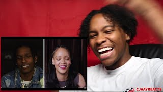 A$AP Rocky Answers 18 Questions From Rihanna | GQ | CJAAYREACTS REACTION!!!