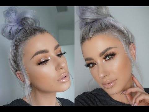 SOFT GLOWY GLAM MAKEUP TUTORIAL | LOLALINER