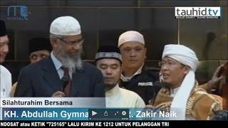 Aa Gym Bersilaturahmi Bersama Dr. Zakir Naik