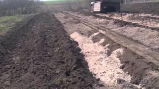 Начало закладки плантации голубики (часть 2)