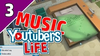 YouTubers Life Music Channel Ep 3   NEW APARTMENT?!   (YouTubers Life Game Gameplay)