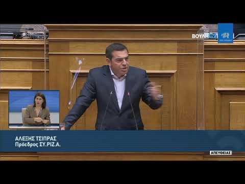 Α.Τσίπρας (Πρόεδρος ΣΥ.ΡΙΖ.Α)(Συζήτηση προ Ημερησίας Διατάξεως)(02/04/2021)